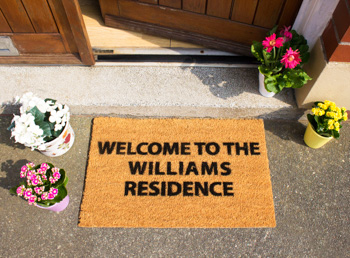 Personalised Doormat Example 1