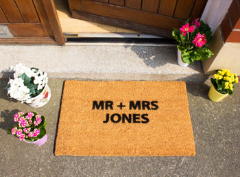Personalised Doormats Example 3